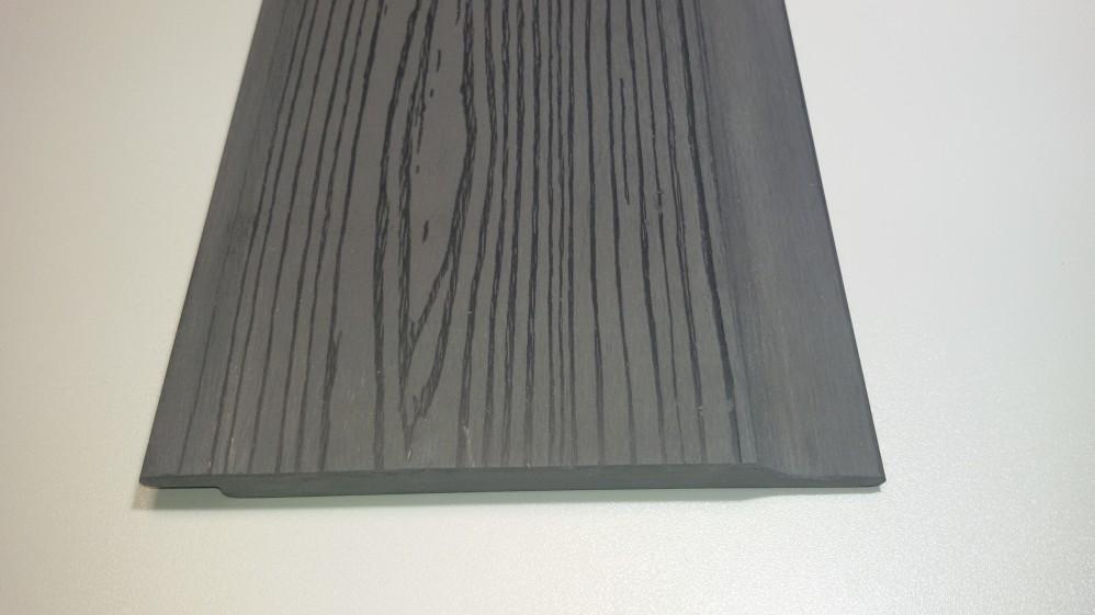 WPC Fassadenbekleidung 1,2 x 16,4 Steingrau
