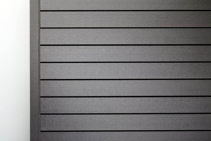 Wpc Wandverkleidung Grau Gerade 5 8m Zubehor Jekawood