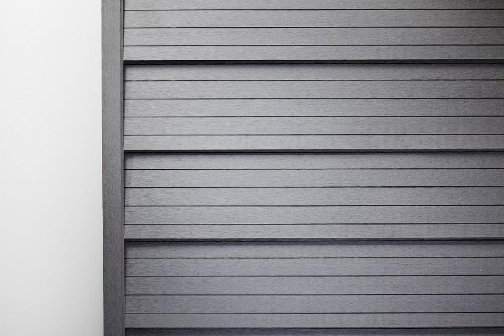 WPC-Wandverkleidung grau 5,8 m