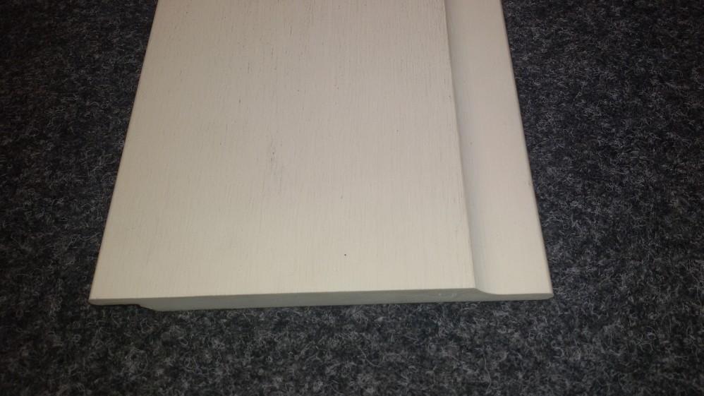 WPC Fassadenbekleidung 1,2 x 16,4 cm Elfenbein