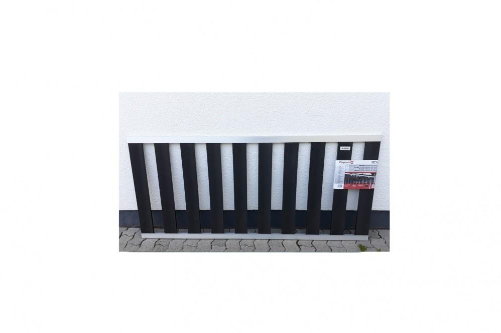 WPC Vorgartenzaun 80 x 180 cm